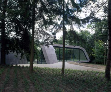 Ordrupgaard Museum expansion. Zaha Hadid. Ordrup, 2005