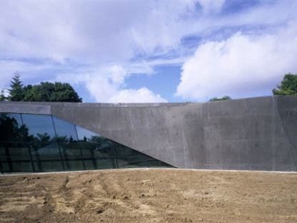 Ordrupgaard Museum expansion. Zaha Hadid. Ordrup, 2005