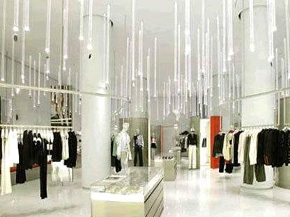Shanghai. Emporio Armani<br> Massimiliano and Doriana Fuksas. 2004