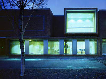 Grafton Architects<br>Office accommodation and shop for Dublin City University, 2003