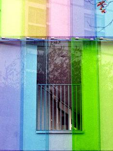 Crèche Lauzin (nursery)<br> Studio Davar Panah-Sarre. Paris. 2005