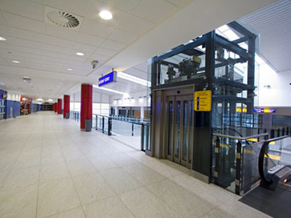 New Prague-Ruzine Airport Terminal 2 North