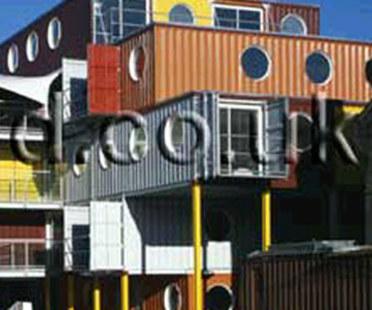 Container City. Nicholas Lacey & Partners. London. 2002