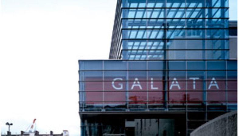 Galata Maritime Museum<br> Guillermo Vázquez Consuegra<br> Genoa, Italy 2000-2004
