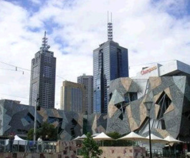 Federation Square, Lab Architecture.<br /> Melbourne, Australia. 2002