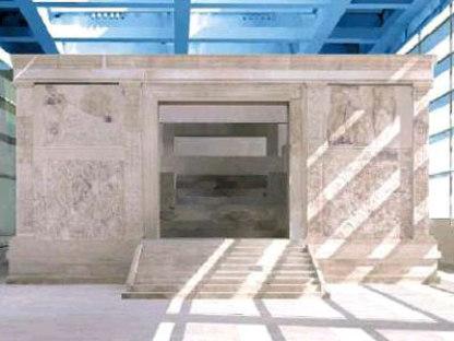 Ara Pacis Museum. Richard Meier. Roma. 2006