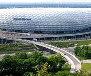 Allianz Arena Stadium. Herzog & de Meuron. Munich. 2006