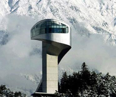 Ski jump, Zaha Hadid. Mt. Bergisel (Austria). 2002
