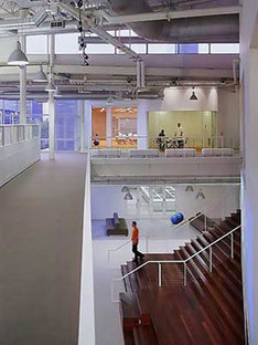 Google Headquarters, Clive Wilkinson Architects. Mountain View, California. 2005