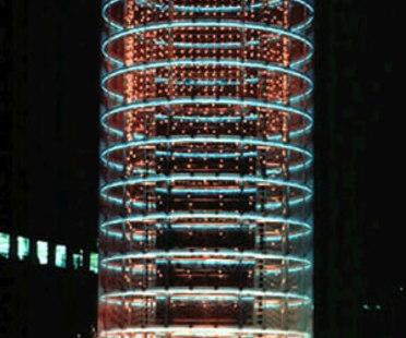 Wind Tower. Yokohama. Toyo Ito. 1986