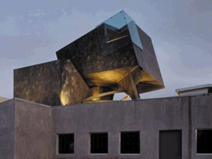 The Box. Culver City (California). Eric Owen Moss. 1994
