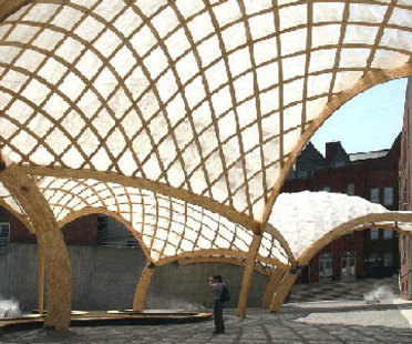 Obra Architects, Temporary PS 1 pavilion. New York. 2006