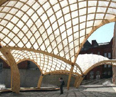 Obra Architects, Temporary PS 1 pavilion. New York. 2006