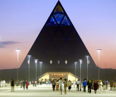 Astana (Kazakistan). Palace of peace and reconciliation. Foster and Partners. 2006