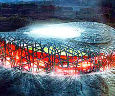 Olympic Stadium. Beijing. Herzog and de Meuron. 2006