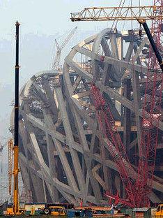 Olympic Stadium. Beijing. Herzog and de Meuron. 2006