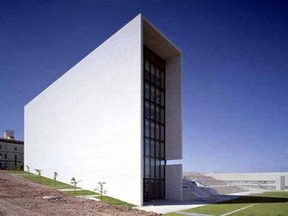 Rectory building for New Lisbon University - Manuel and Francisco Aires Mateus. Lisbon, 1998