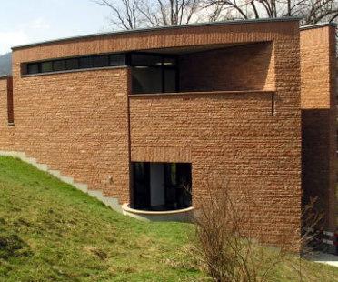 Mario Botta, Werner Oechslin Library<br /> Mario Botta. Einsiedeln (Switzerland). 2006