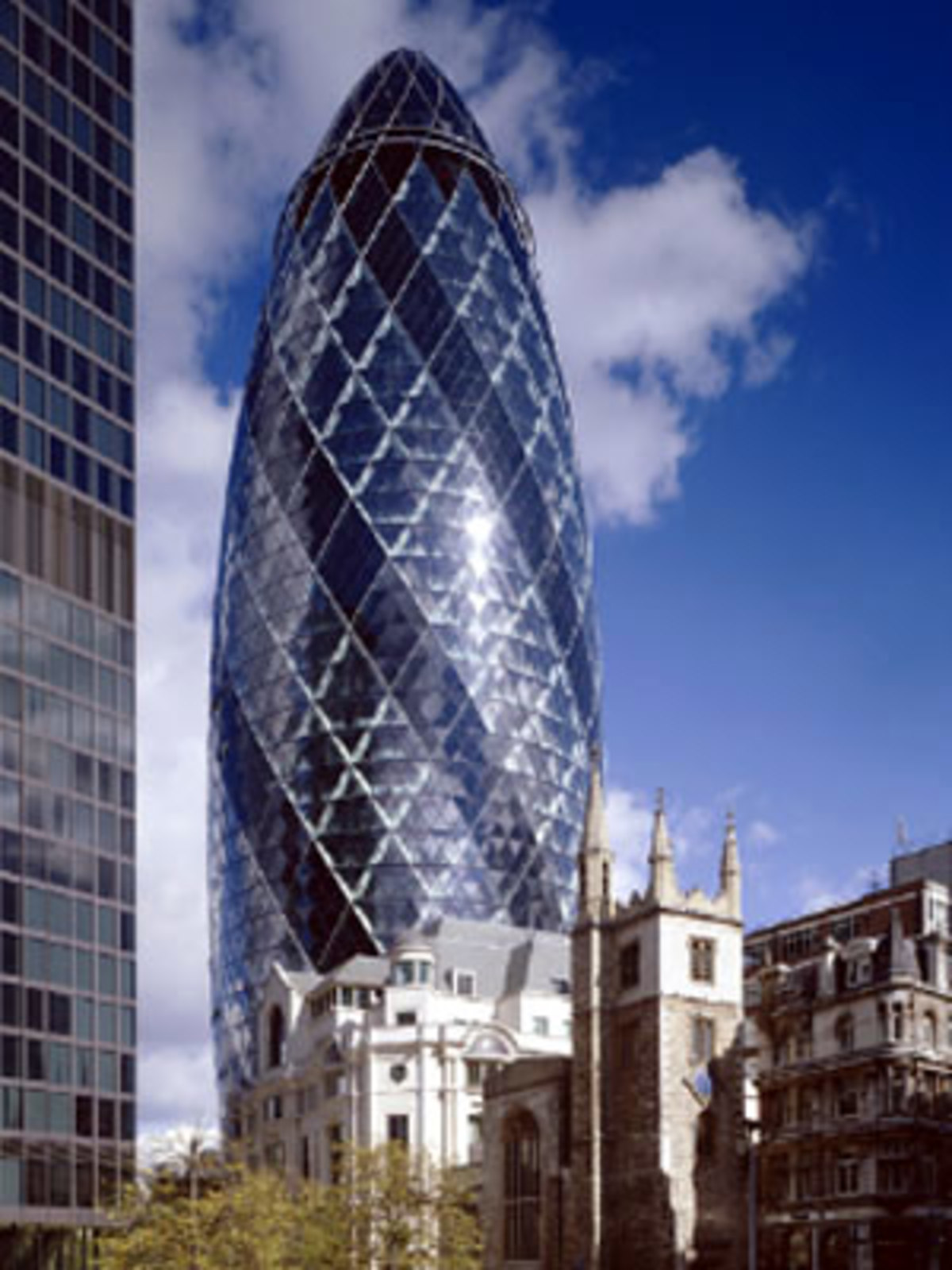Swiss Re Tower Foster And Partners London 2004 Floornature