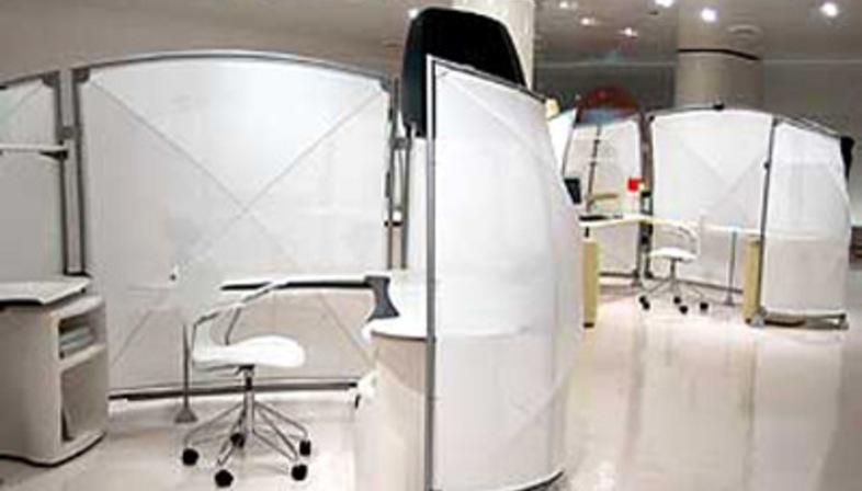 A3 open office. Asymptote Architecture.