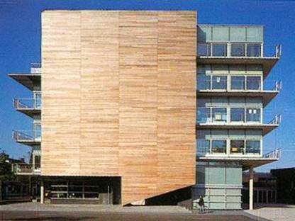 Montessori College Oost, Amsterdam, The Netherlands. Herman Hertzberger