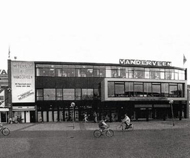 Shopping Centre Expansion in Assen, Netherlands. Herman Hertzberger