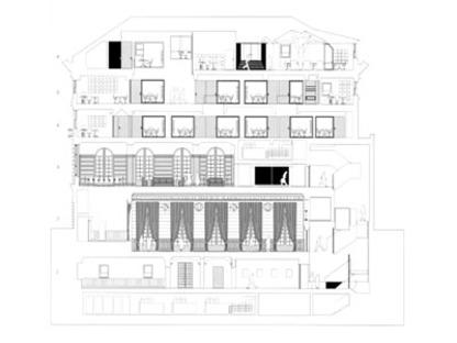 Italian House, Columbia University, New York<br />Italo Rota