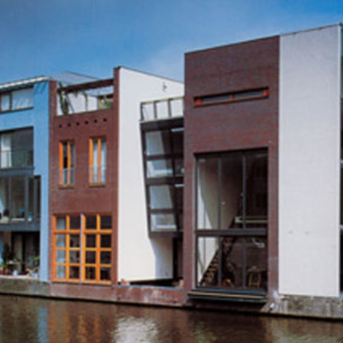 University Of Amsterdam Dorms: Two Houses Amsterdam MVRDV 2000