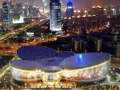Oriental Art Centre. Shanghai. Paul Andreu. 2005