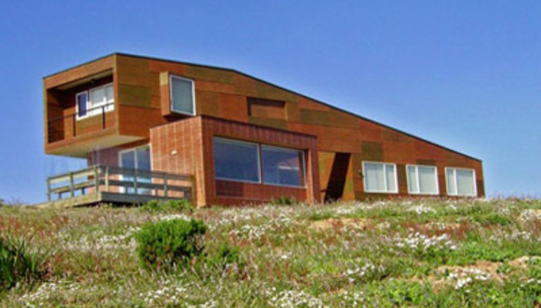 Weller Home. Riesco + Rivera Arquitectos Asociados<br /> with R&U arquitectos asociados.<br />Punta del Gallo, Chile - 2005