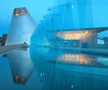 Museum of Glass - Arthur Erickson Architects. Tacoma, 2002