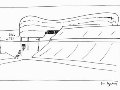 Lindner Athletic Center. Cincinnati. Bernard Tschumi. 2005
