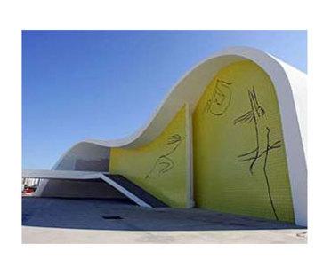 Teatro Popular di Niteroi (Brasile) Oscar Niemeyer. 2007
