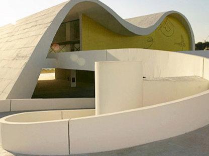 Teatro Popular in Niteroi (Brazil) Oscar Niemeyer. 2007