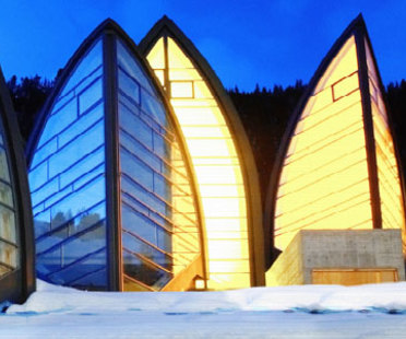 Bergoase wellness centre. Mario Botta. Arosa (Switzerland). 2006