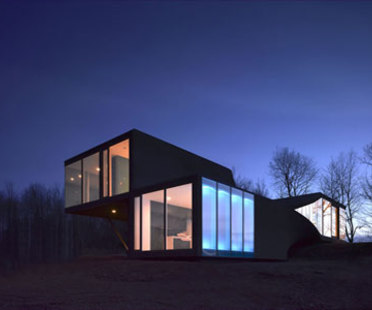 VilLA NM - UNStudio. Upstate New York, Catskills, 2006
