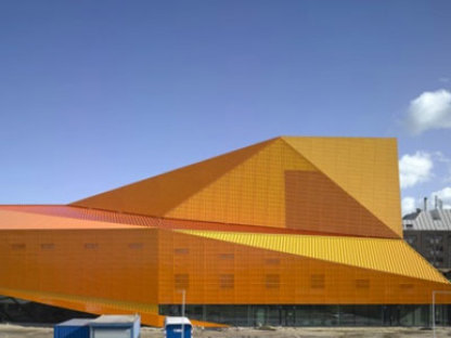 Agora Theatre. Lelystad (Holland). UNStudio. 2007