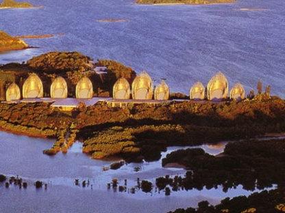 Jean Marie Tjibaou Cultural Centre. New Caledonia. Renzo Piano, 1998