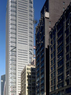 New headquarters for the New York Times. New York. Renzo Piano. 2007