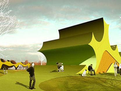 Extension of Danfoss Universe park<br /> Jürgen Mayer H. Nordborg (Denmark). 2007