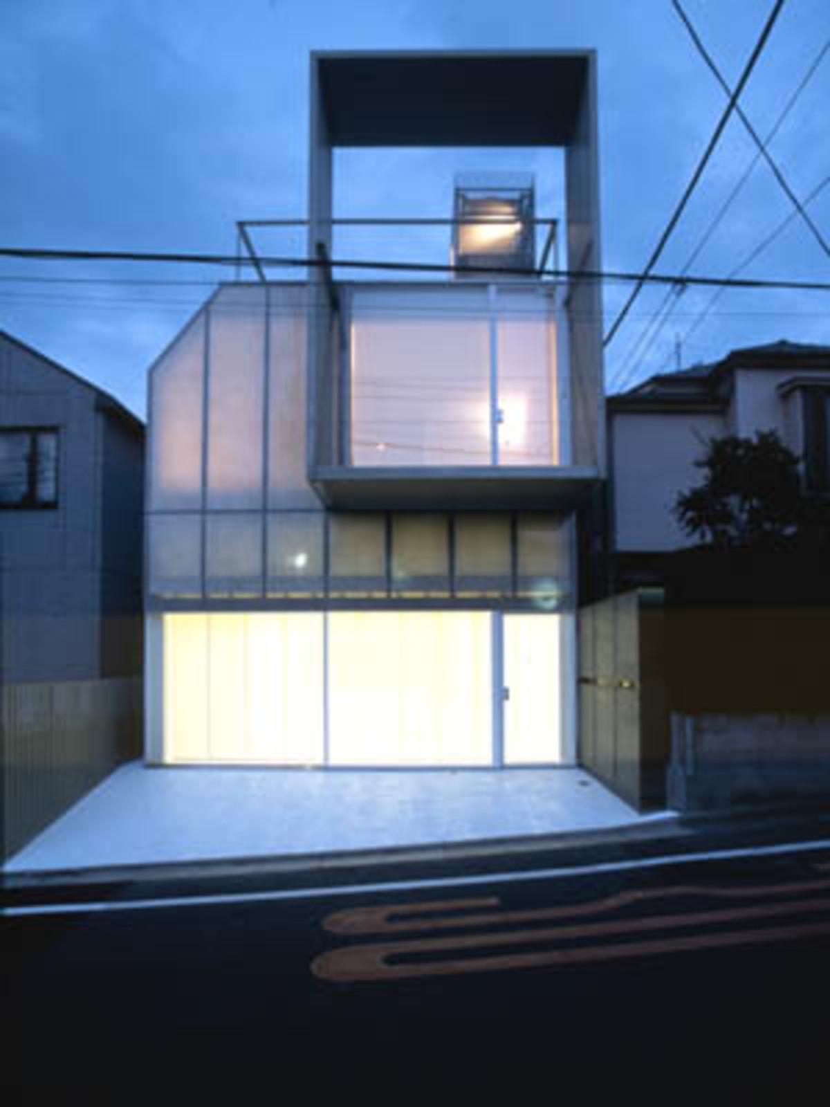 Kengo Kuma Plastic House Tokyo Japan 2002 Floornature