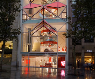 Citroen Showroom. Paris. Manuelle Gautrand. 2007