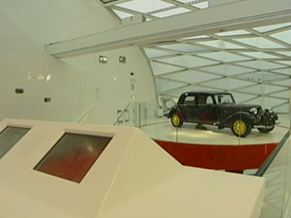 Citroen Showroom. Paris. Manuelle Gautrand. 2007