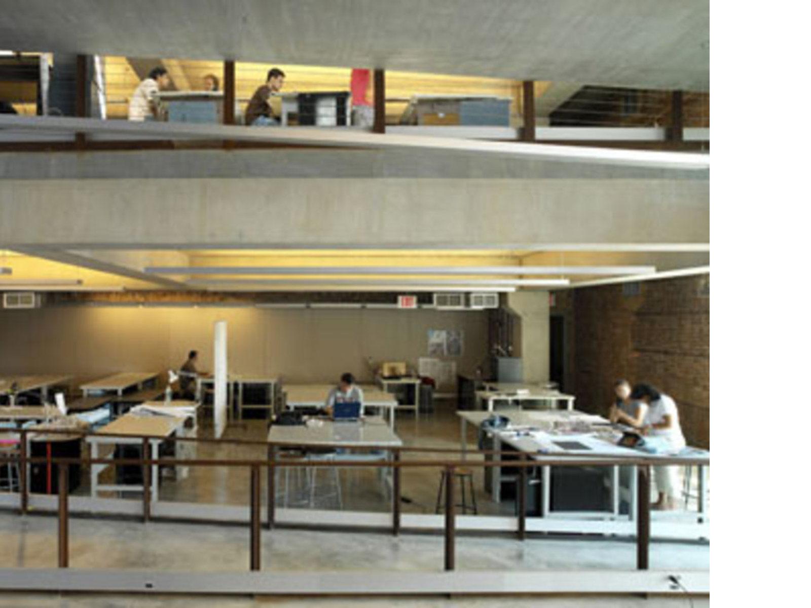 higgins hall pratt institute steven holl new york 2005 - Pratt Institute Interior Design