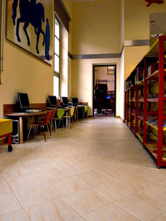 Library in Alessandria