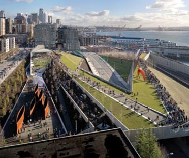 Olympic Sculpture Park - Weiss/Manfredi. Seattle, 2006
