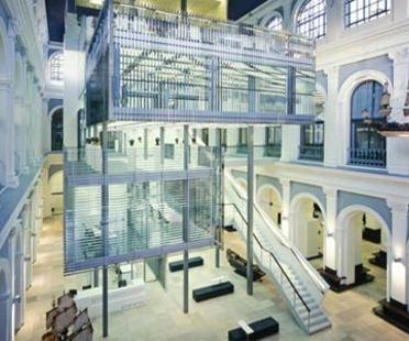 Haus im Haus - Behnisch Architekten. Hamburg, 2007