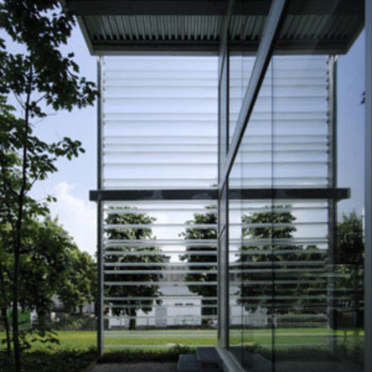 Living Divani Headquarters in Anzano del Parco, designed by Piero Lissoni, 2008