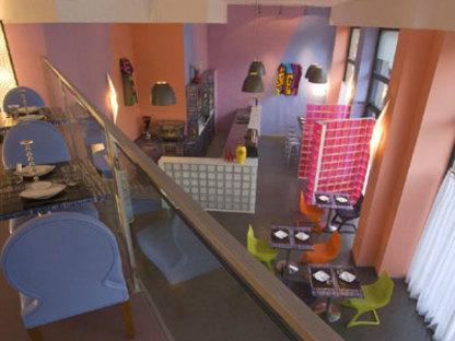 Blue Ginger Restaurant, Atelier Mendini, Milan 2008