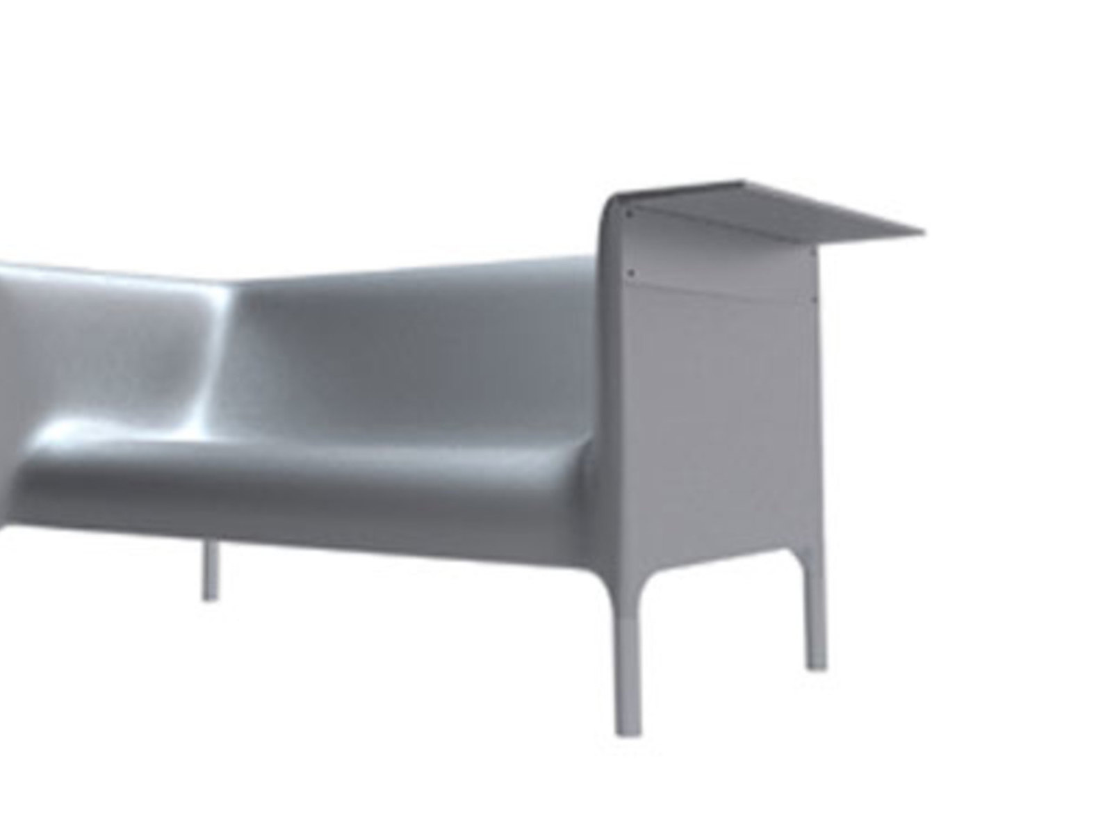 Out/In, sofa, high easychair, low easychair, Philippe Starck with Eugeni Quitllet, Driade, 2009